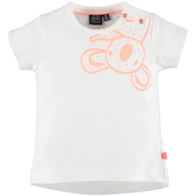 Babyface - baby girls t-shirt sh.sl. - WHITE FOAM - 128644