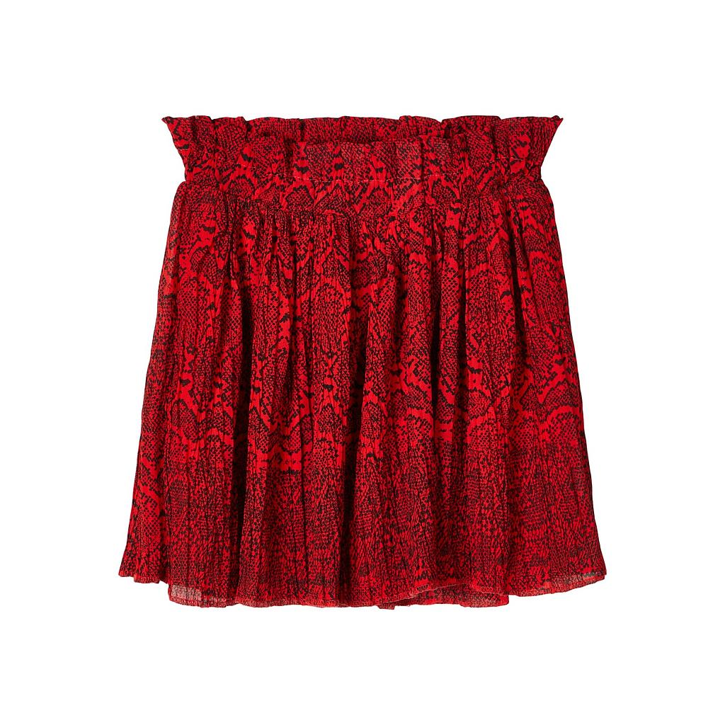 NAME IT KIDS - NKFTANYA SKIRT - High Risk Red
