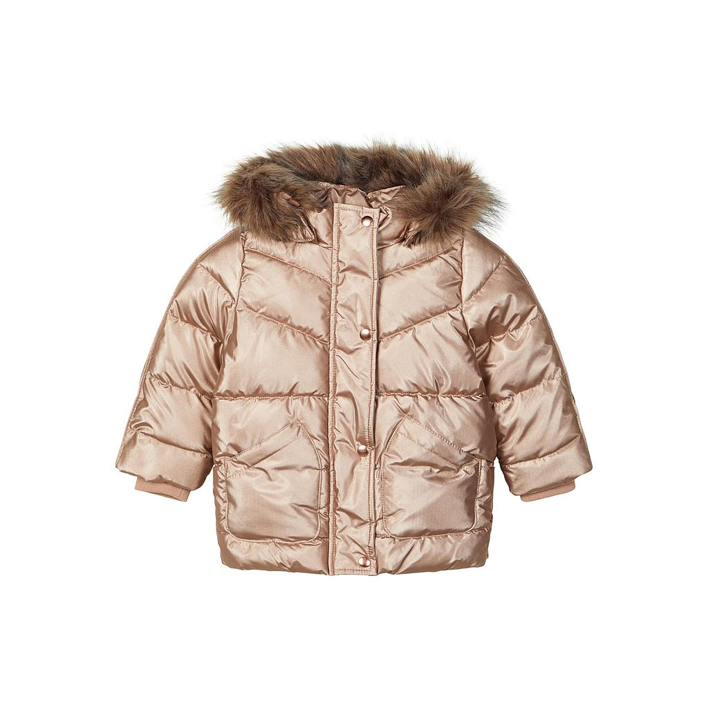 NAME IT MINI - NMFMARLENE JACKET - Gold Colour