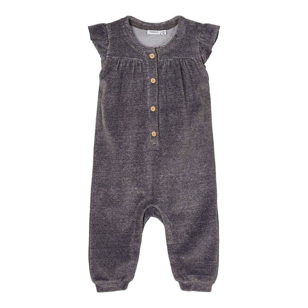 NAME IT BABY - NBFNANETT VEL SUIT - Mole