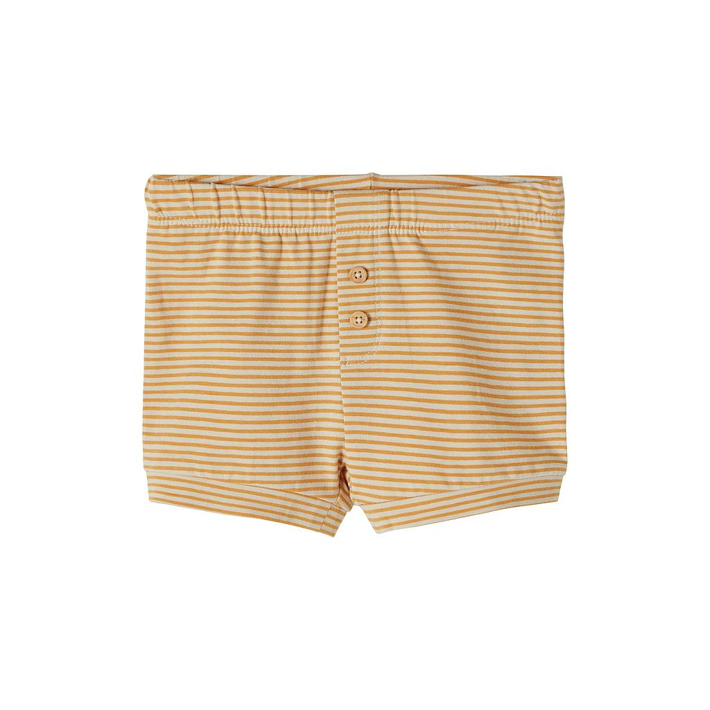 NAME IT BABY - NBMFIPAN SHORTS - Spruce Yellow