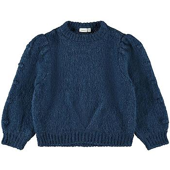 NAME IT KIDS - NKFOVERA LS KNIT - Gibraltar Sea