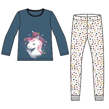 NAME IT KIDS - NKFNIGHTSET REAL TEAL UNICORN NOOS - Real Teal