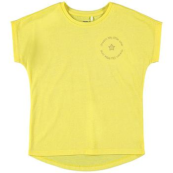 NAME IT KIDS - NKFDENIZ SS TOP - Aspen Gold