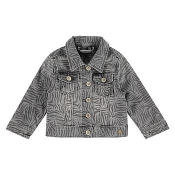 Babyface - girls jeansjacket - grey denim - BBE21108114