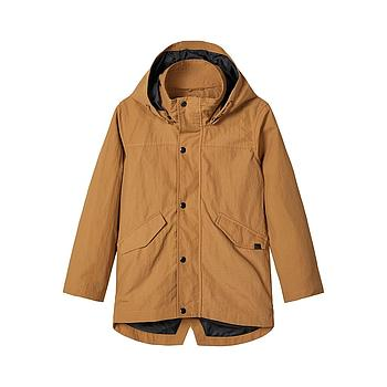 NAME IT KIDS - NKMMAGNE JACKET - Bone Brown